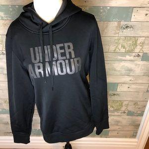 Under armour fleece hoodie size M